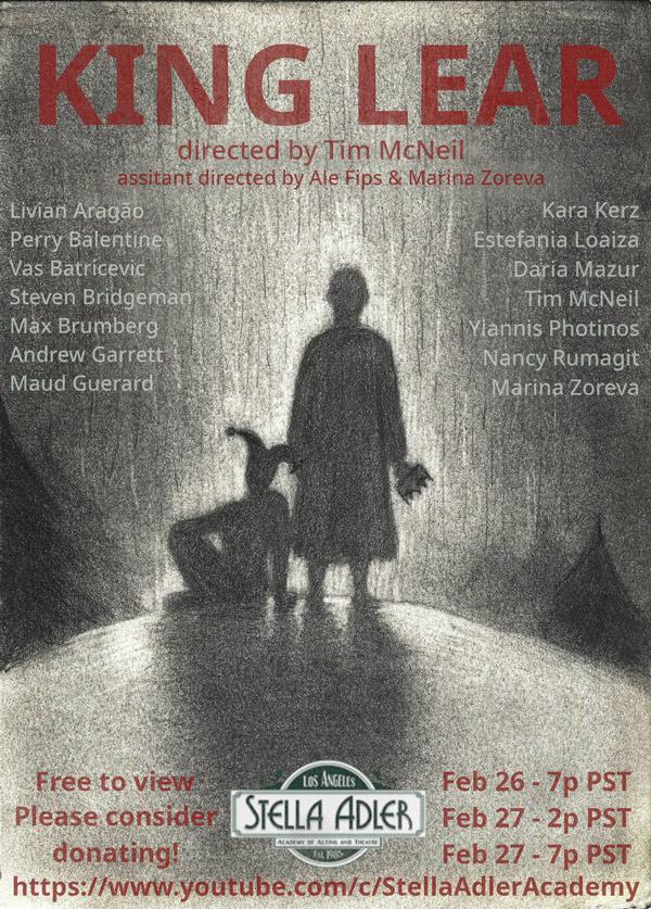 Stella Adler Academy presents King Lear